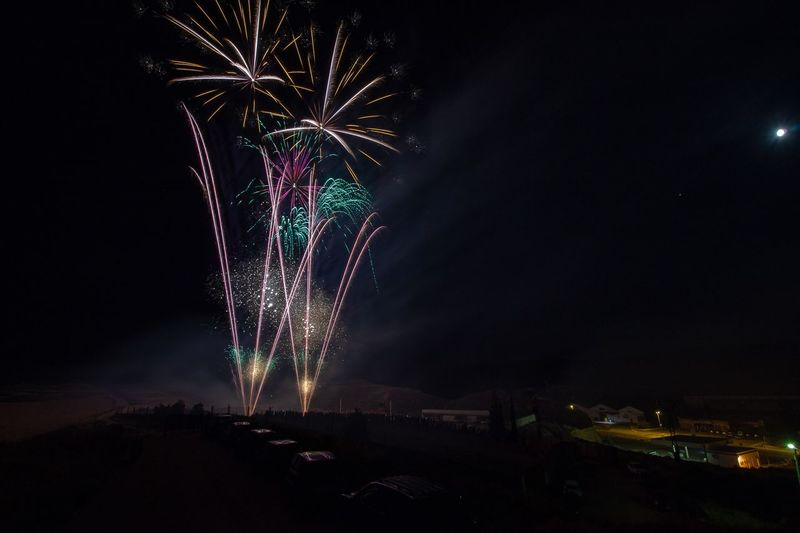 Fireworks Night Illuminated Celebration Arts Culture And Entertainment Firework Event EyeEmNewHere Celebration Event Light Sky Firework Display Outdoors Multi Colored