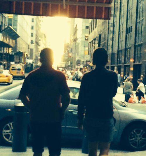 Feel The Journey Father And Brother New York