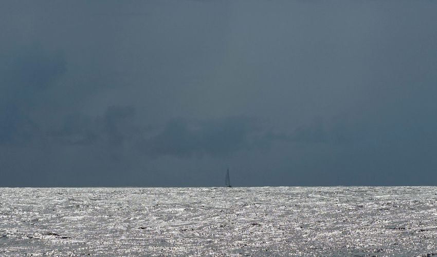 Black Clouds Power In Nature Rain Clouds Reflection Sailing Sailing Ships Solitude South Pacific