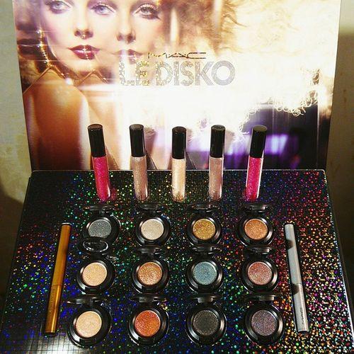 M.A.C 2015 Summer Le Disko Collection Maccosmetics Ledisko Dazzleshadow Glitter Glamour