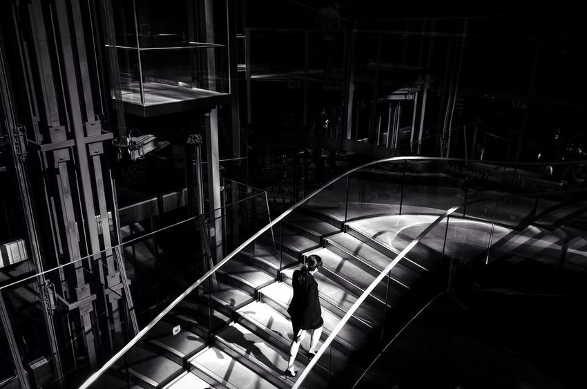 In Spot Light. Women City Life City Street Street Leicacamera Blackandwhite Photography Streetphoto_bw Monochrome Maxgor Leica London Street Photography Black And White Leicaxvario Blackandwhite Candid Rawstreets Streetphotography Maxgor.com Mono February 2016 February Photo Challenge
