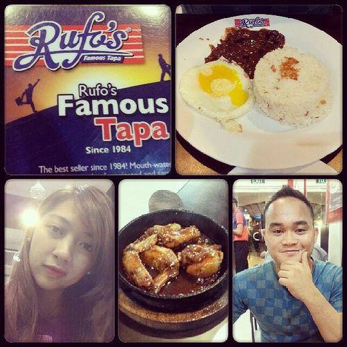 Dinner with love ;) @japitgrande Date Dinnerdate FriDATE Rufos famoustapa foodstagram foodtography foodie