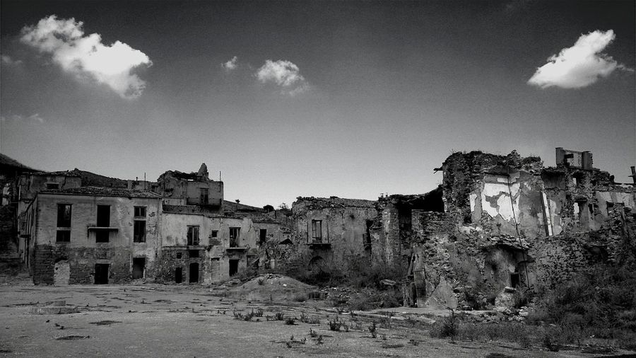 Ruins of old ruin