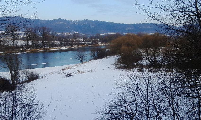 Winter Poland River