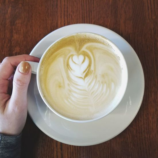 Latte Specialty Coffee Latteart Coffee Fresh On Eyeem  Breakfast Milk Coffee Time Cup Personal Perspective Nail Polish Hand Human Hand Cappuccino Drink Froth Art Table Latte Close-up Food And Drink Froth Espresso Black Coffee Saucer Coffee Cup Caffeine Beverage