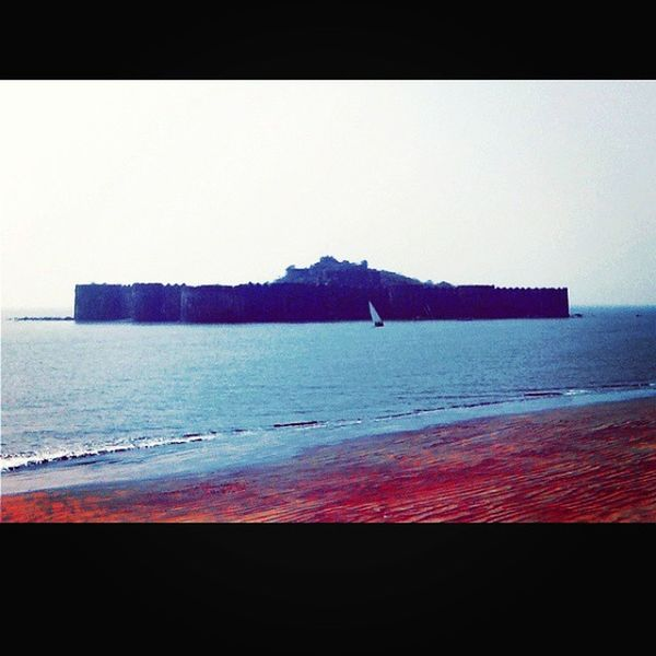The strongest and one of the unconquerable fort - Murudjanjira Fort Murud Raigad Maharashtra Traveldiaries Travelmaharashtra Wanderlust