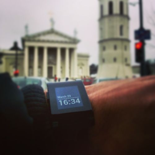 @getpebble from Lithuania