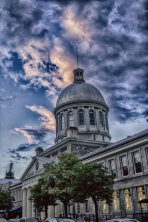 Marche Bonsecours, in the Old Port, Montreal. EyeEm Best Shots Montreal, Canada HDR Taking Photos
