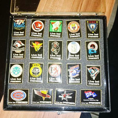 Pins Del Eishockey Iloveit Deutscheeishockeyliga Meine alten pins mal wieder rausgekramt