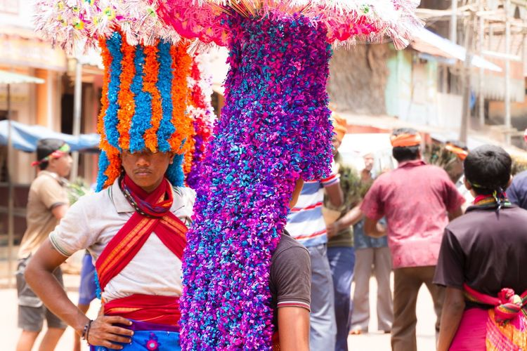 Colors Of Carnival India Tradition Costumes