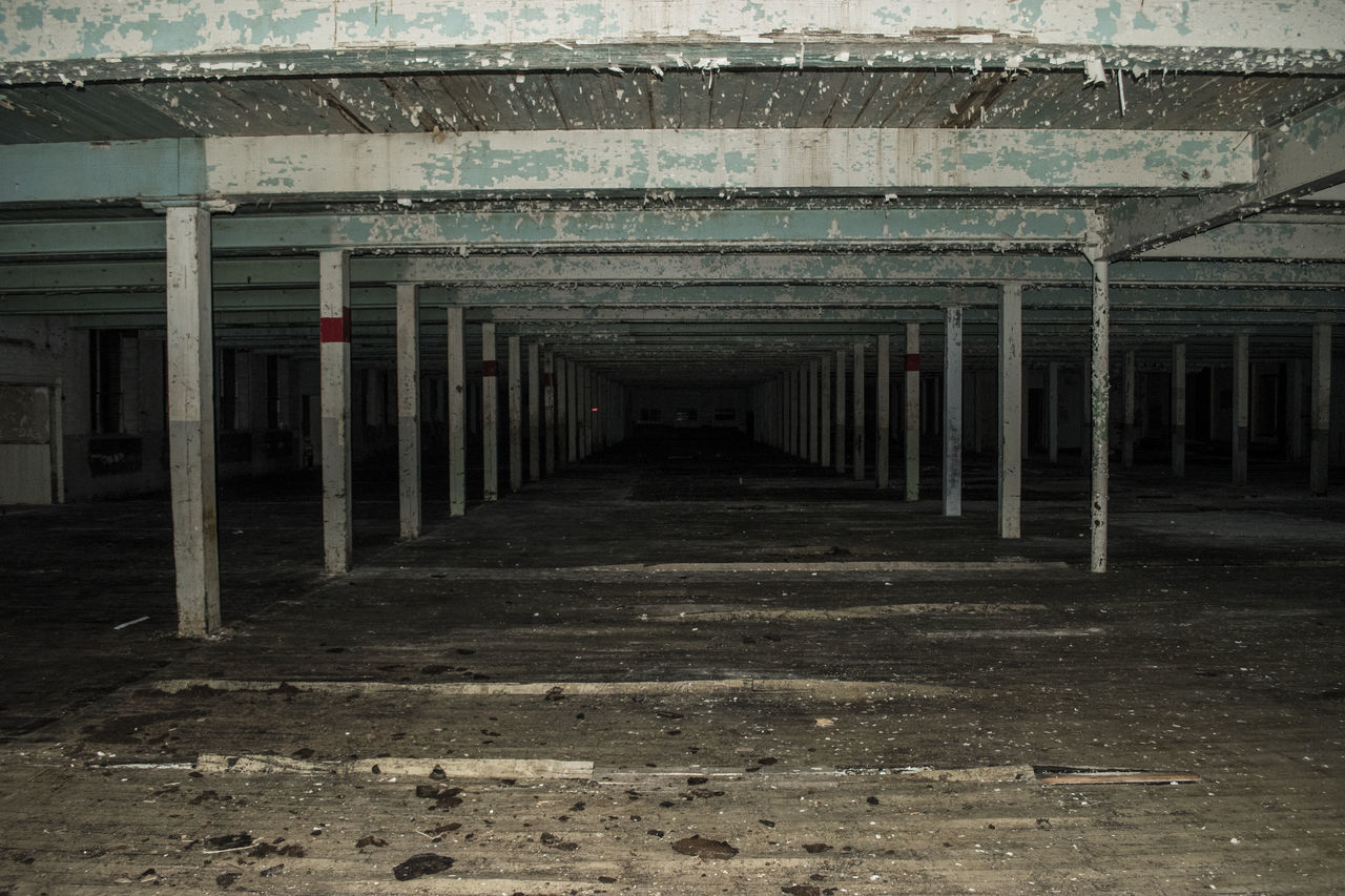 Abandoned Empty Basement