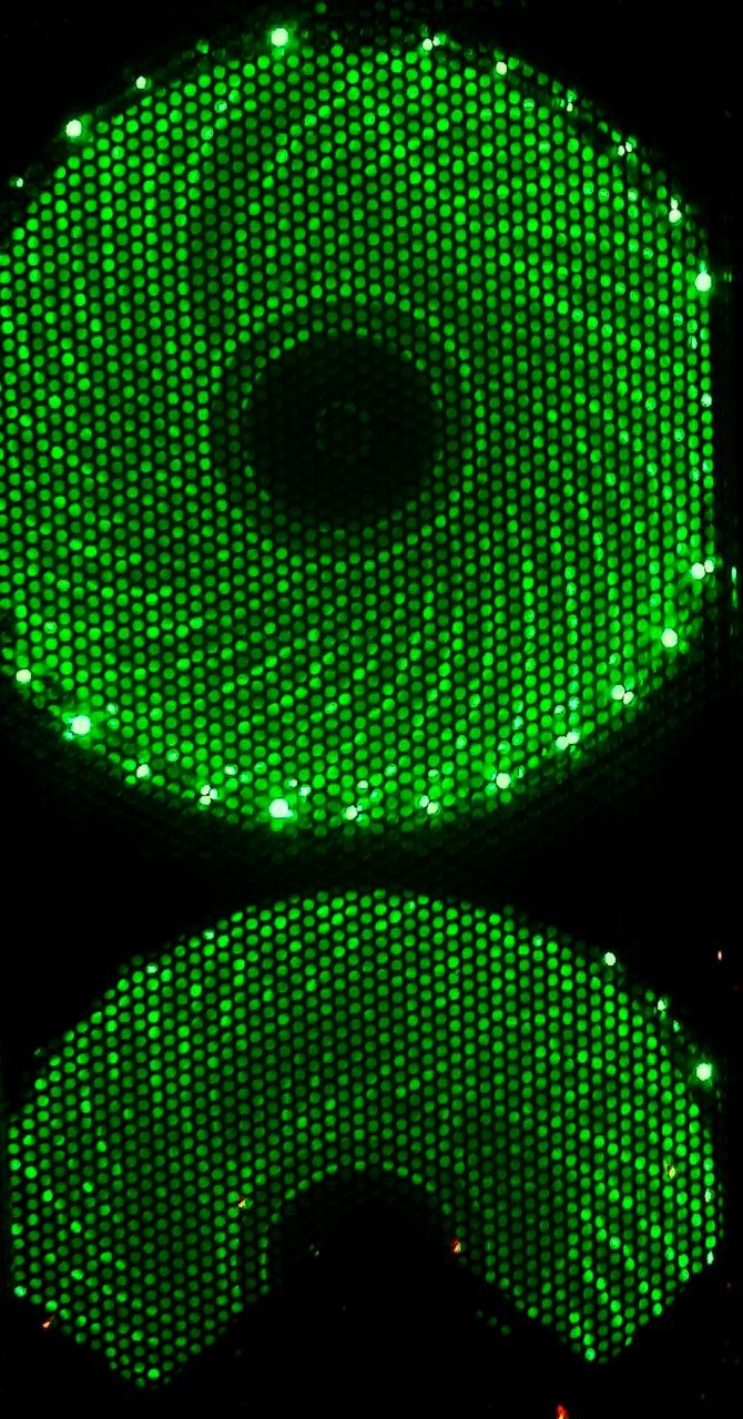 green color, technology, pattern, indoors, illuminated, night, close-up, no people, neon