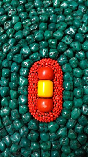 Bead work Boho Beadwork Art Craft India Culture Handmade Abstract Colourful Colour Beads Love Love ♥