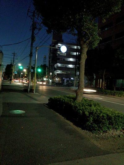 夜明け。朝6時頃。 Dawn 6:00 A.m. in Tokyo