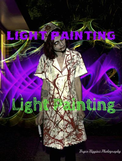 Lightpainting Zombies  Zombie