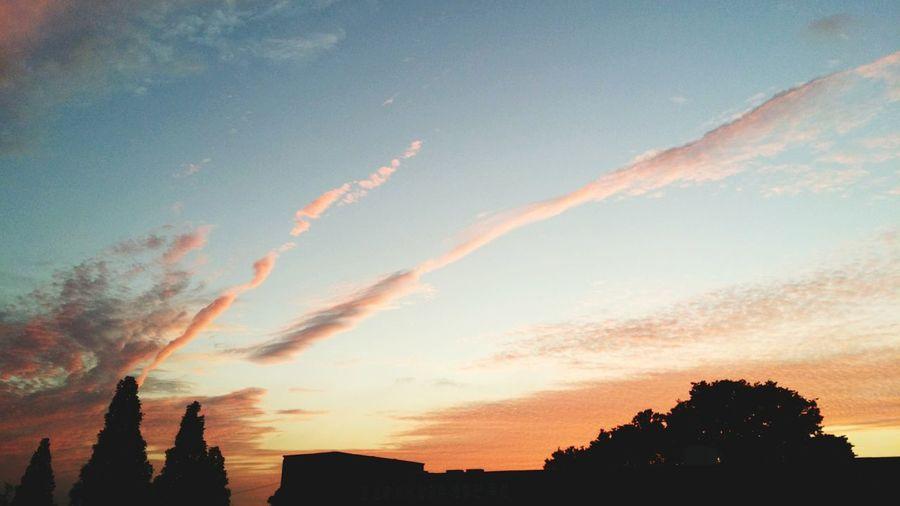 Summer Sky  Sky At My High School Phonecamera