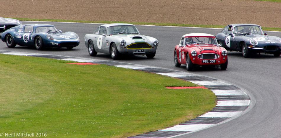 Aston Martin Austin Healey Classic GT Classic Motor Racing Jaguar E-Type Silverstone Silverstone Classic