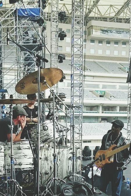 Musicians Soundcheck Takingphotos
