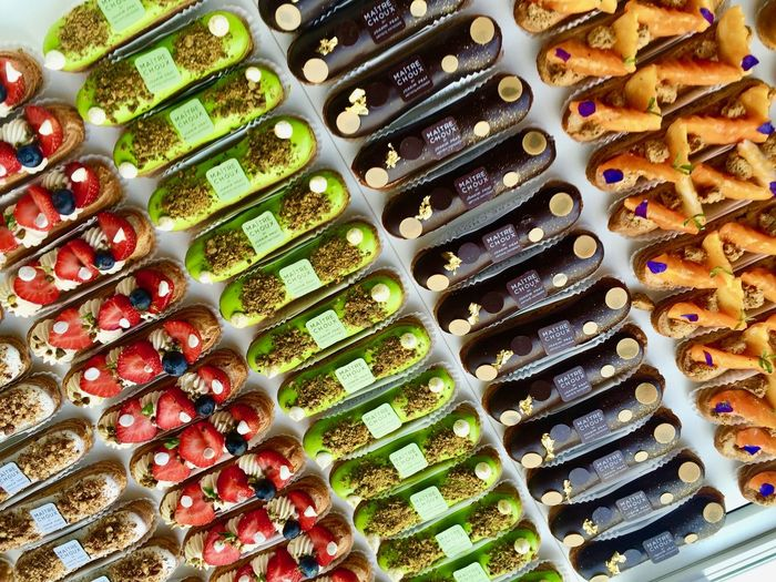 Carrot Chelsea Chocolate Eclairs Frenchpastry Lifestyle London Nuts Pastry Pistachio Posh Scrumptious Snacks Strawberry Sweets Variation
