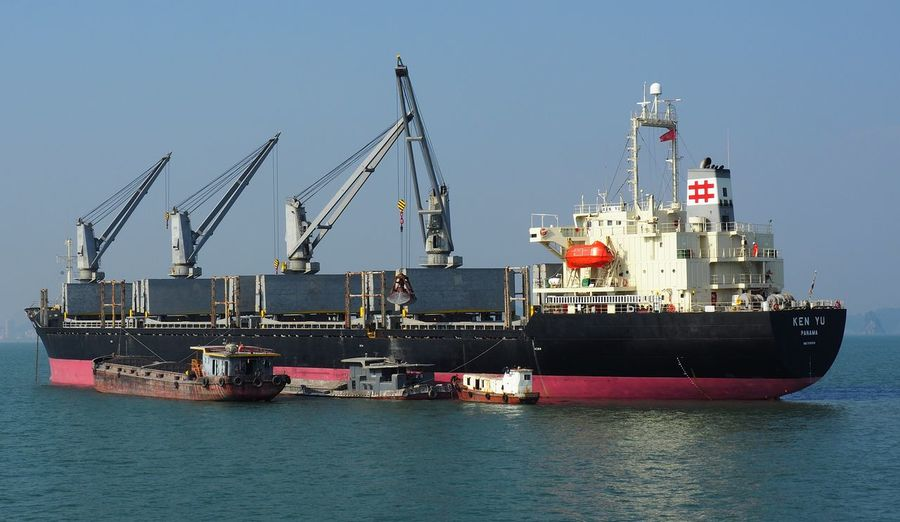 Transportation Sea Nautical Vessel Mode Of Transportation Freight Transportation Business Ship Container Cargo Container Industrial Equipment Sailboat