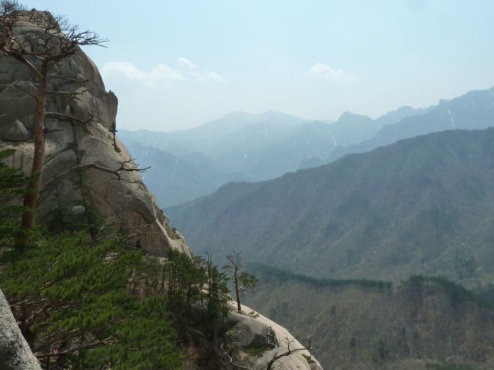 NatureReserve Sunny Beauty In Nature Day Landscape Mountain Mountains Nature Outdoors Peak Soraksan Southkorea