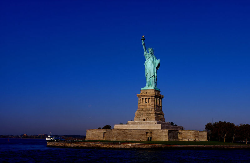 Statue of liberty, new york city, america