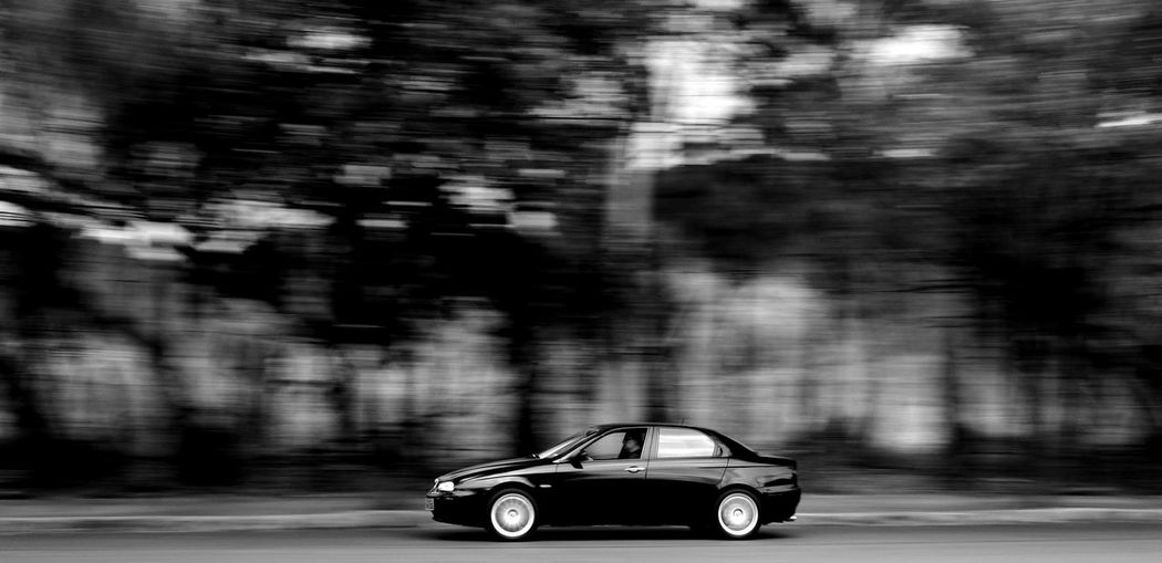 Alfa Romeo Blurred Motion Close-up Day Motion Outdoors Speed Transportation