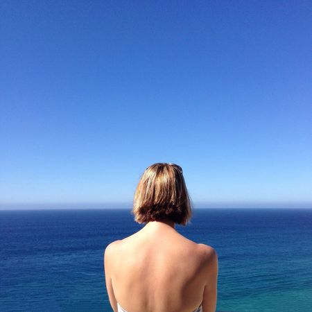 Taken in San José del Cabo, Mexico. #FREIHEITBERLIN South Rear View Sea Water Sky One Person Horizon Over Water Blue Clear Sky Horizon Beauty In Nature Shirtless Scenics - Nature Tranquility Nature Vacations Tranquil Scene Trip Leisure Activity Holiday Hair