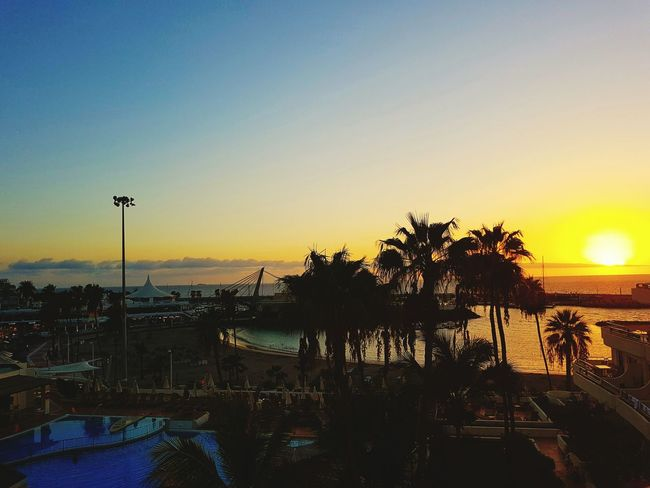 Sunset Travel Destinations The Best From Holiday POV Tenerife España Beauty In Nature Cloud - Sky