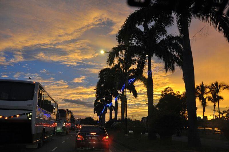 Kota Kinabalu trip Sunset Silhouettes Kotakinabalu EyeEmSabah SabahHoliday