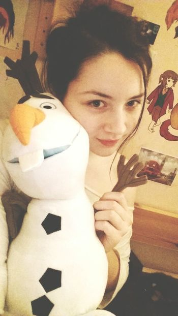 """ I'm Olaf and I like warm hugs! "" 💕 😊😙 Frozen Olaf Disney Selfie Goodnight Bilbobaggins"