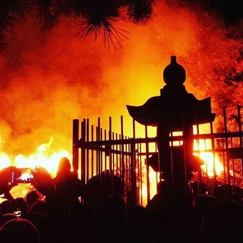 勝部神社の火まつり 勝部神社 勝部の火祭り