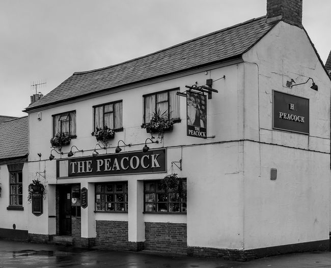 The Peacock, Long Buckby, Northamptonshire Black And White Architecture Monochrome Northamptonshire In Long Buckby Northampton Pubs Pubs