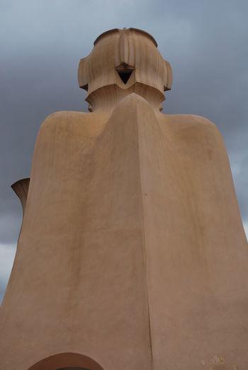 Barcelona Barcelona, Spain Casa Mila Casa Mila ( La Pedrera ) Casa Milà Gaudì Day Gaudi No People Outdoors Sky Statue