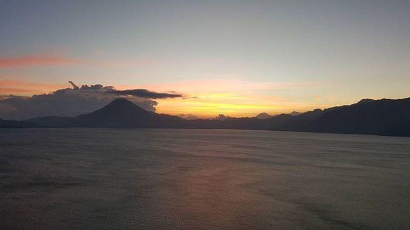 Lake Lago Atitlán Guatemala Guatebella Atardecer Panajachel  PanajachelGuatemala