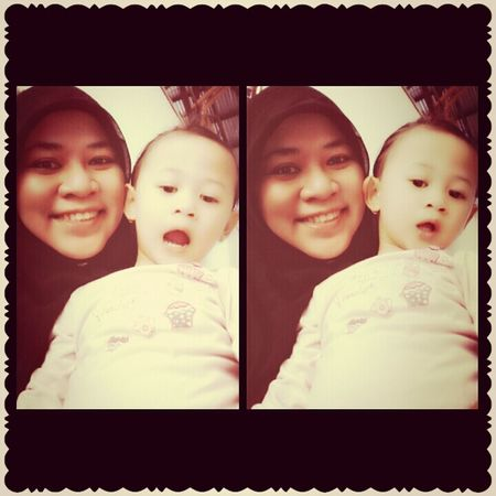 with My Lovely Niece':)