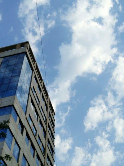 Mumbai Eyeempic EyeEm Gallery Clouds And Sky Buildings & Sky Mirrorshot Brightmorning