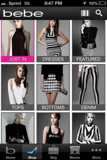 Bebe, Black And White <3