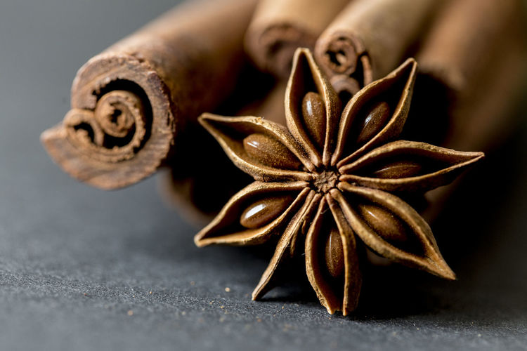 Christmas Cinnamon Close-up Spices Star Anise Sternanis Winter Zimt
