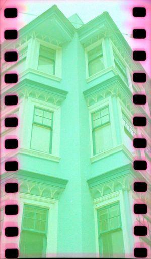 Building Exterior Koduckgirl No People Sprockets Lubitel 166+ Architecture Film