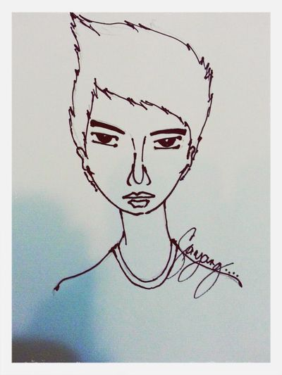 Thanks to this Sayang!! Do i really look like in this sketch? Hahha @jeffreygarde Check This Out