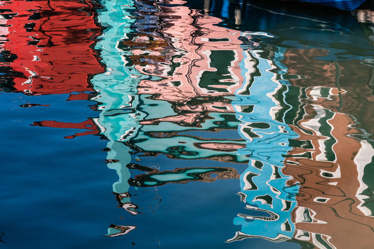 Reflection on venetian canal