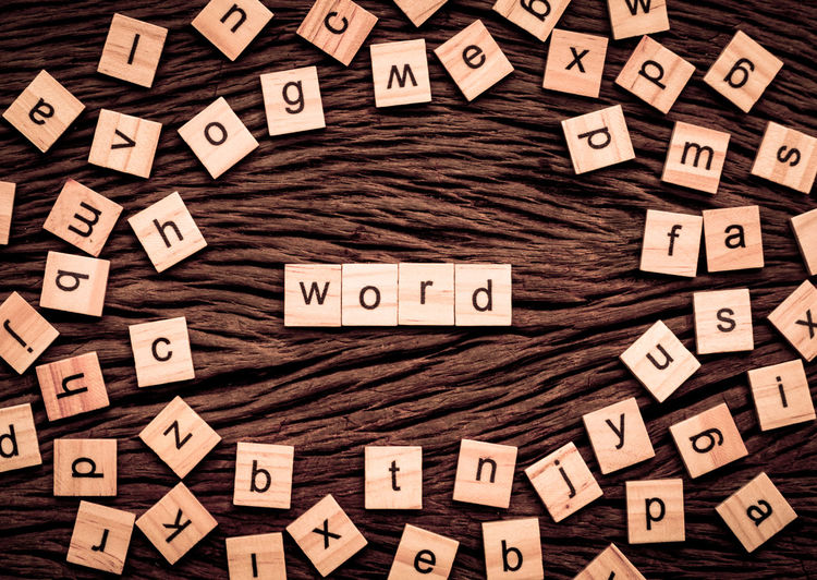 Abundance Alphabet Arrangement Block Block Shape Capital Letter Close-up Communication Design Directly Above Indoors  Large Group Of Objects Letter No People Shape Spelling Text Toy Block Typescript Wood - Material