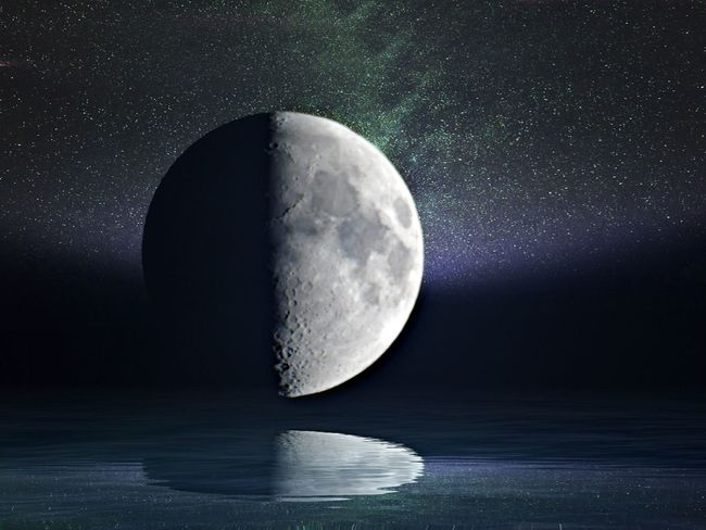 Moon Astronomy Night Moon Surface Space And Astronomy Beauty In Nature Nature Sky Half Moon To Nights Moon Edit Junkie Space Low Angle View