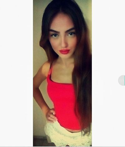 Redlips RedShirt  Longhair Crazychick Dontmesswithme