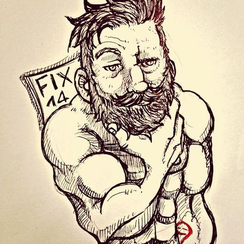 Drawing Art Beard Artistic