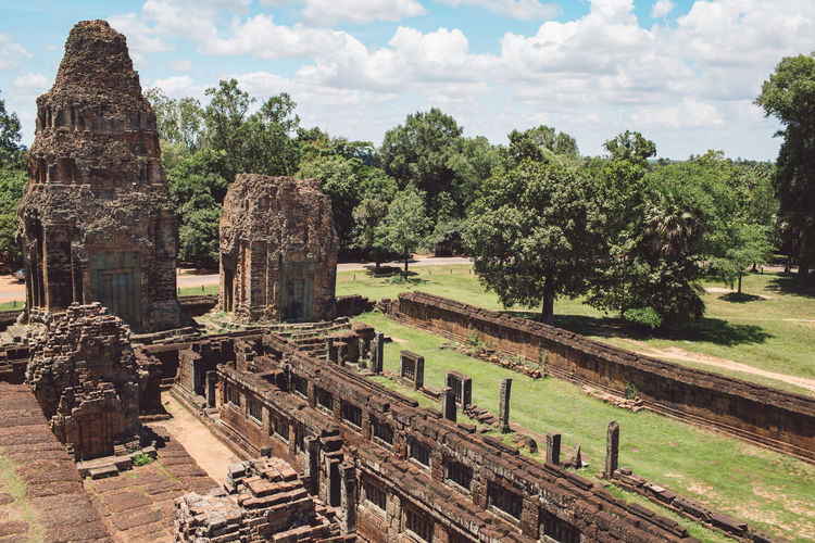 Siem Reap Cambodia Angkor Architecture Tree Ancient Built Structure The Past Plant History Travel Sky Cloud - Sky Nature Place Of Worship Travel Destinations Day Religion Old Ruin Ancient Civilization Tourism Belief No People Archaeology Outdoors Ruined