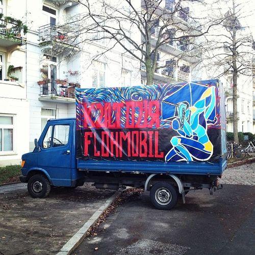 #flohmobil #eimsbüttel Eimsbüttel Flohmobil