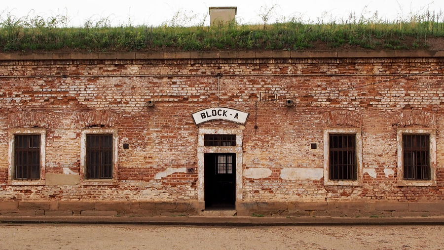 Architecture Bradley Olson Bradleywarren Photography Brick Wall Brick Wall Building Exterior Built Structure Day Exterior German Historic Historical Historical Building Historical Buildings Historical Place No People Old Outdoors Prison Ruin Terezín War Weathered Weathered Window