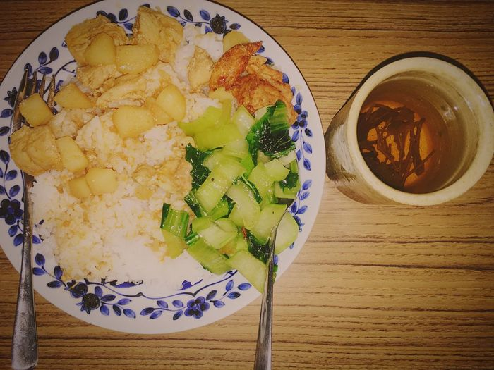 Dinner Curry Rice Cook  Hungry Tea My Student Life Myanmar In Japan